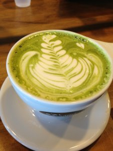 Macha Green Tea Latte @ Sambalatte
