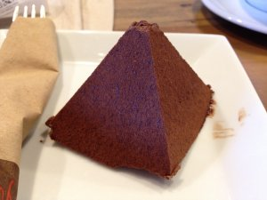 Chocolate Caramel Pyramid @ Sambalatte