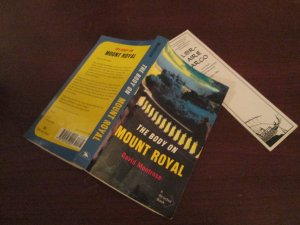 Body on Mount Royal. Available at Argo book shop