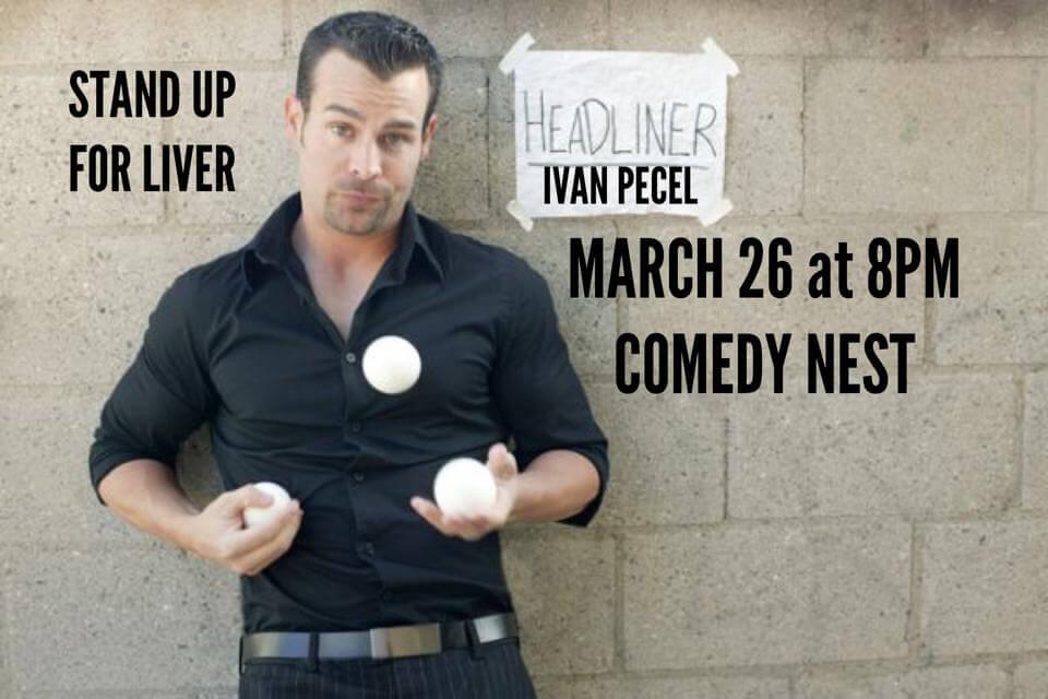 Ivan Pecel is standing up for liver